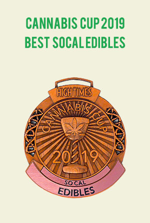 2019 Cannabis Cup winner - best SoCal edibles