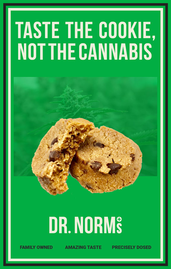 Taste the cookie, not the cannabis