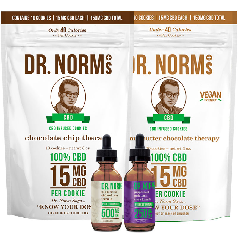 Dr. Norm's CBD products