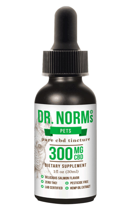 Pet Tincture CBD Oil - 300mg CBD