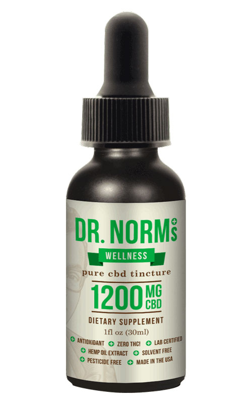 Wellness Tincture CBD Oil - 1200mg CBD